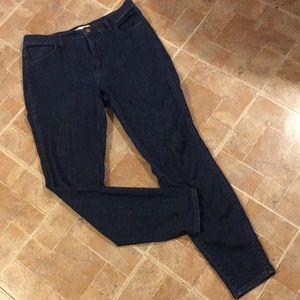 "Madewell 10"" high riser skinny jeans size women 31"